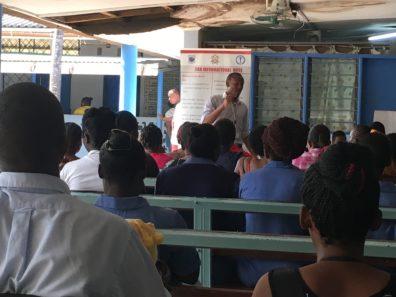 Image of Zika presentation at Mombasa hospital