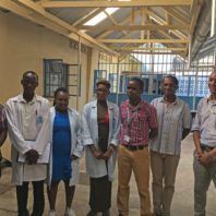 Image of Zika team, Mombasa City Hospital
