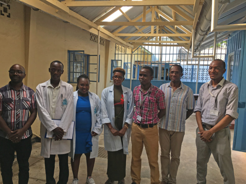 Image of Zika team, Mombasa City Hospital