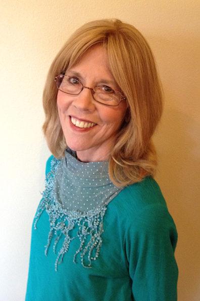 Closeup of Sue Ritter