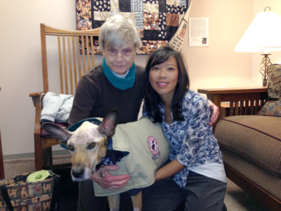 Anne Hensley, Scout and Dr. Annie Chen