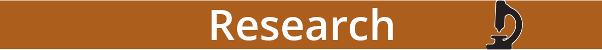 Orange banner that says Research