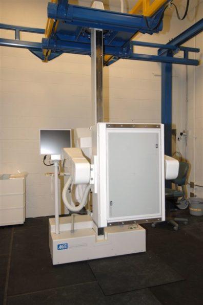 Nuclear scintigraphy machine or gamma camera