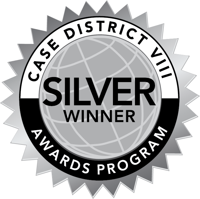 Silver Winner seal for CASE District VIII Awards Program
