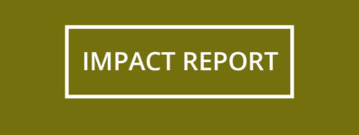 Green banner that reads Impact Report