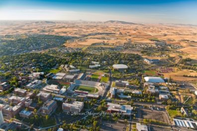 Aerial view of Pullman