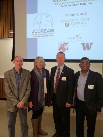 Christian Mailhiot, Rep. Norma Smith, David Field, and Ramulu Mamidala