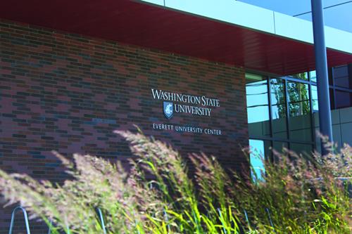 WSU Everett facade