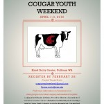 Cougar youth weekend 2016 flyer