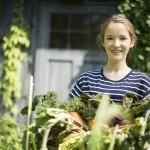 girl with garden