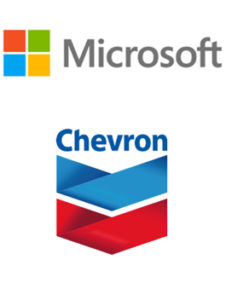 Sponsor Logos Microsoft and Chevron