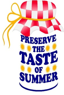 Preserve the Taste of Summer Logo