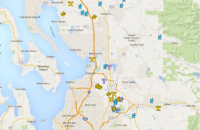 equipment sharing map