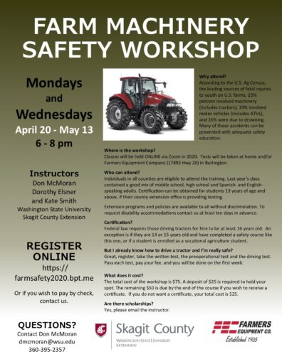 Farm Machinery Safety Workshop