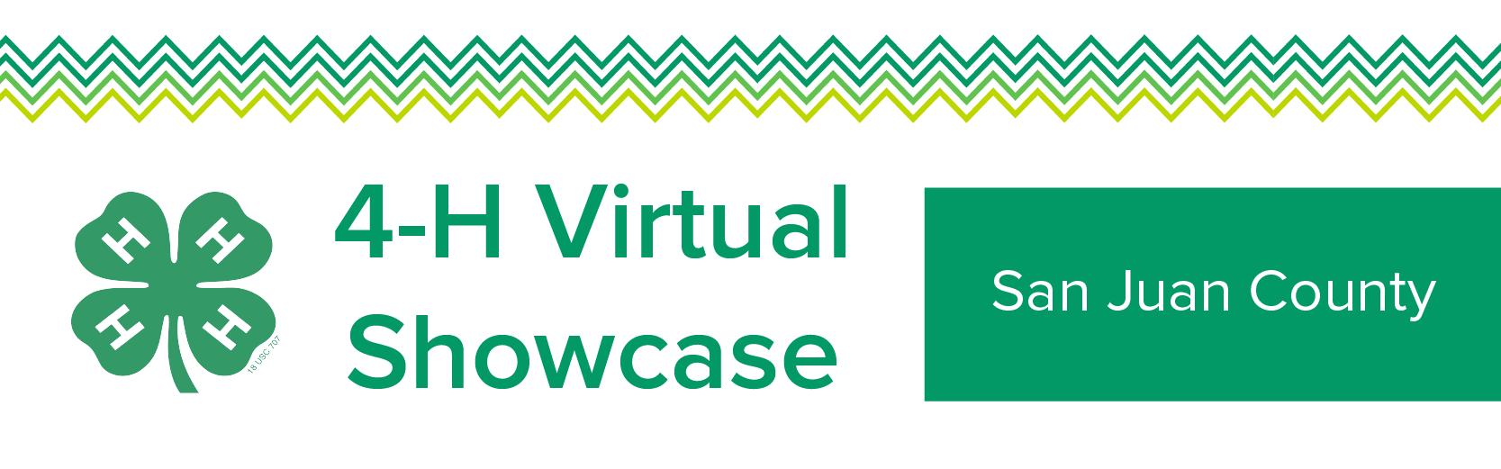 4-H Virtual Showcase Banner