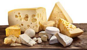 Various Artisan Cheeses