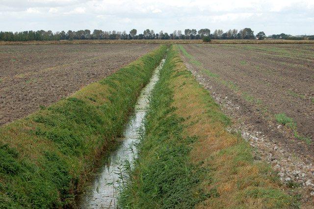 farm drainage ditch