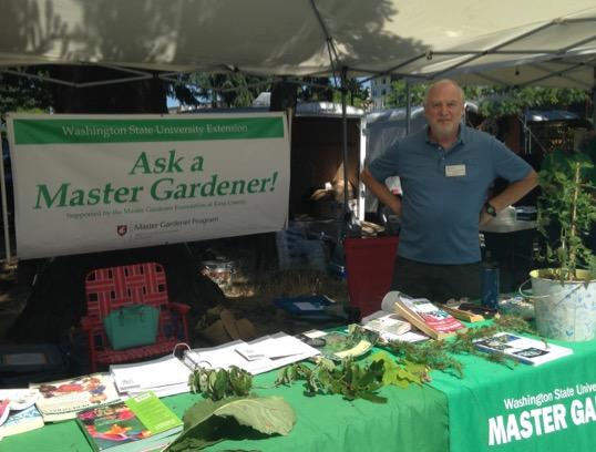 Master Gardener Redmond Farmers Market Clinic