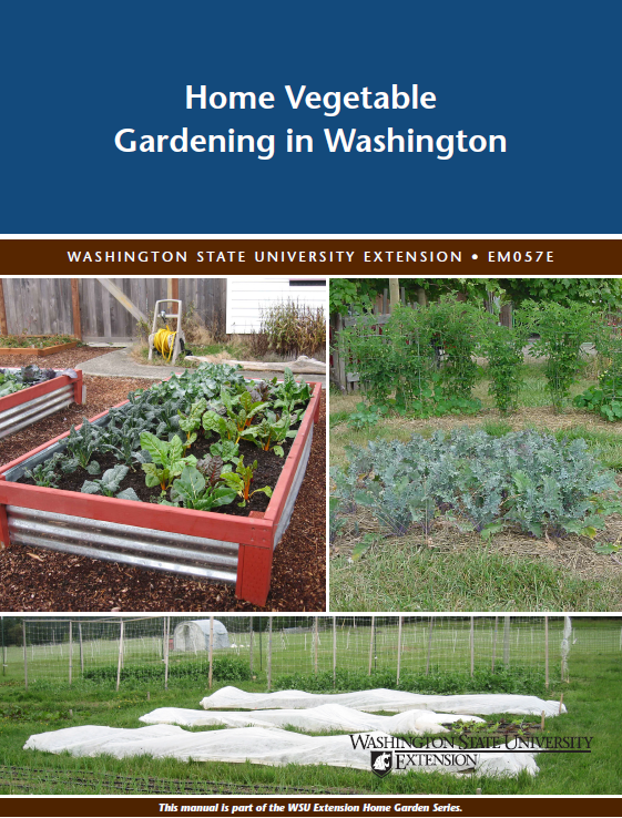 Home Vegetable Gardening in Washington, EM057E