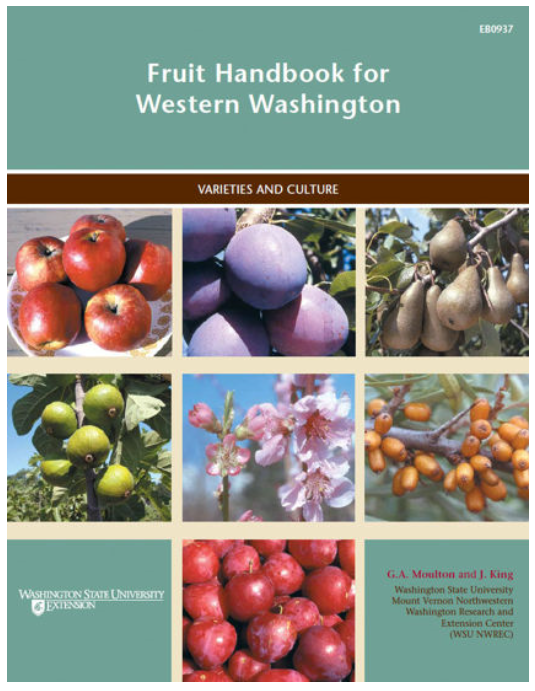 Fruit Handbook for Western Washington, EB0937, $6.50 download