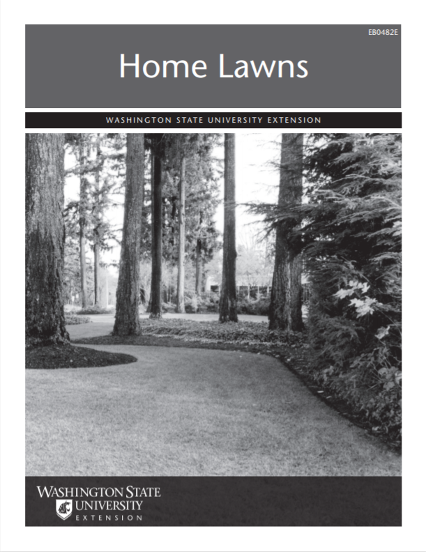 Home Lawns, EB0482E brochure cover