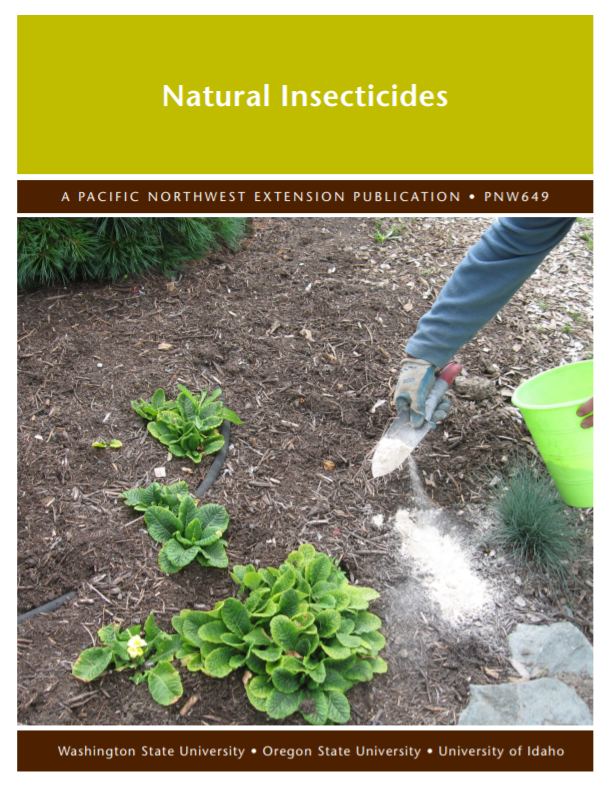 Natural Insecticides, PNW649 brochure cover