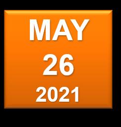 May 26 2021