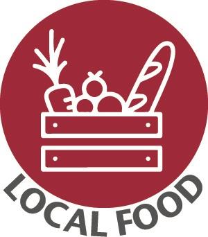 MG Local Food logo