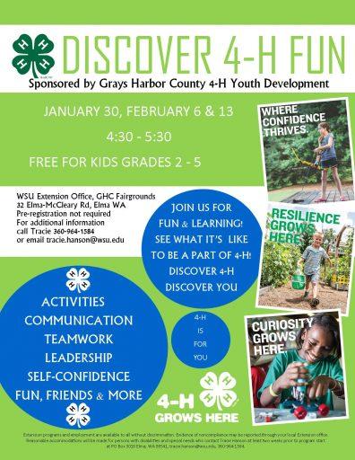 Discover 4-H Community Program