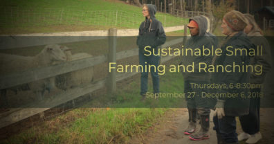 Sustainable Farming and Ranching