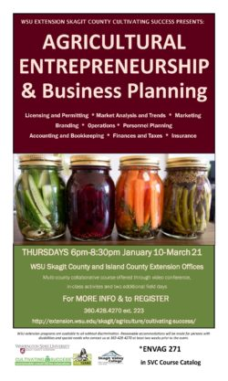 Agricultural Entrepreneurship and Business Planning