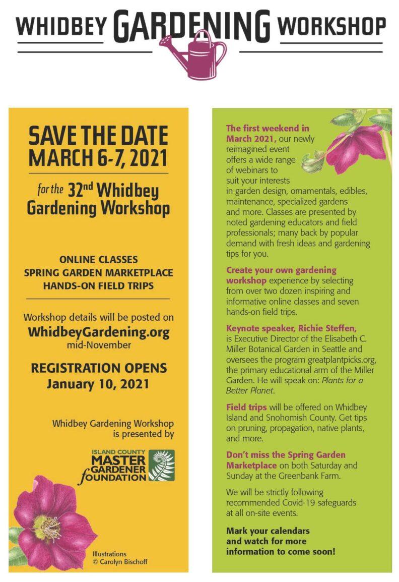 Whidbey Gardening Workshop