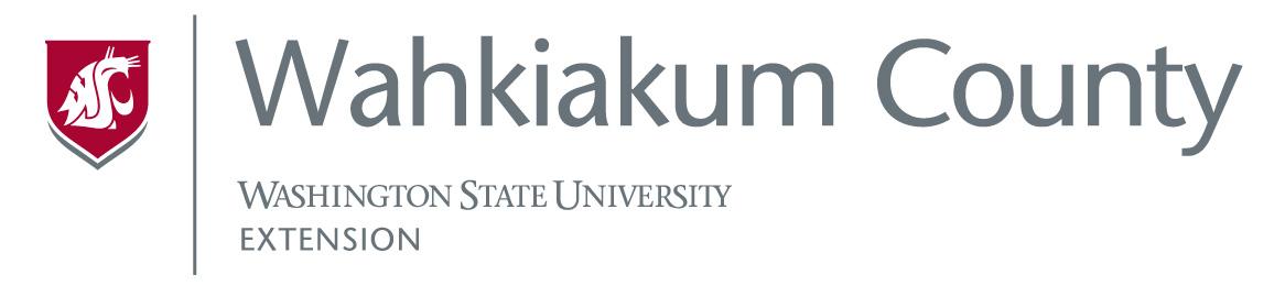 Wahkiakum County Extension Logo