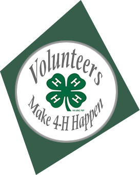 Volunteers make 4-H Happen