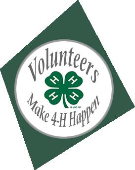 Volunteers make 4-H Happen