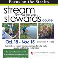 Stream Steward class announcement flyer