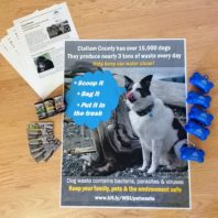 photo of outreach materials for Clallam County