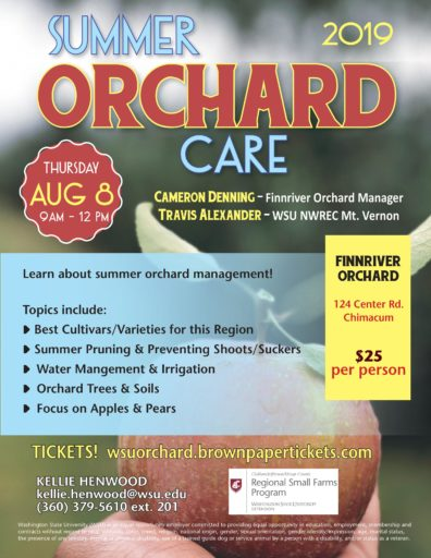 Summer Orchard Care