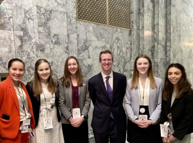 4-H'ers meeting with US representative Derek Kilmer