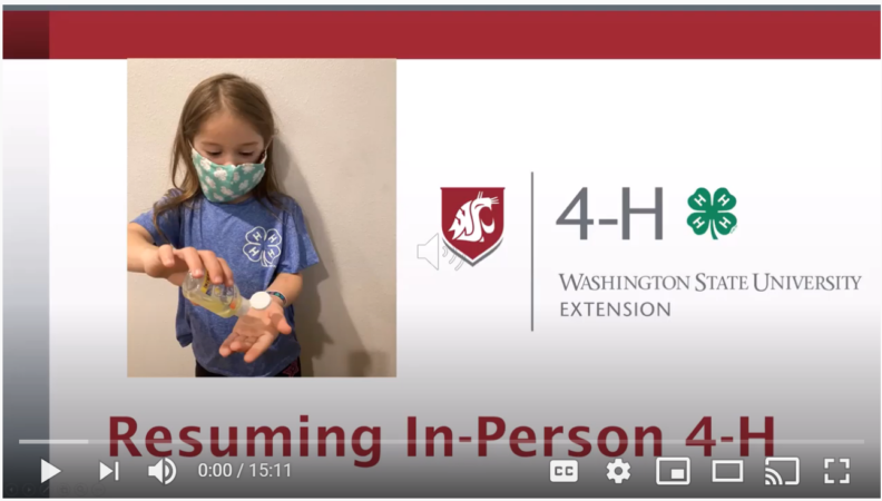 picture link to resuming in-person 4-h video