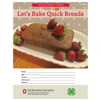 Lets Bake Quick Breads Curriculum for Purchase
