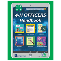 4-H Officers Handbook for Purchase
