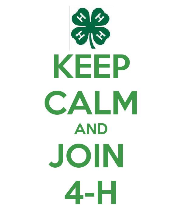 Keep Calm And Join 4 H Benton Franklin Counties Washington