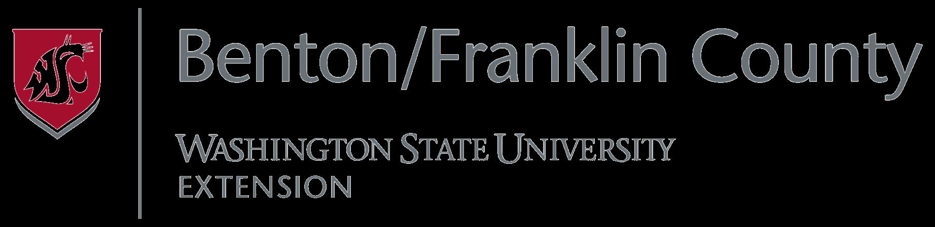 Benton/Franklin County Washington State University Extension logo.