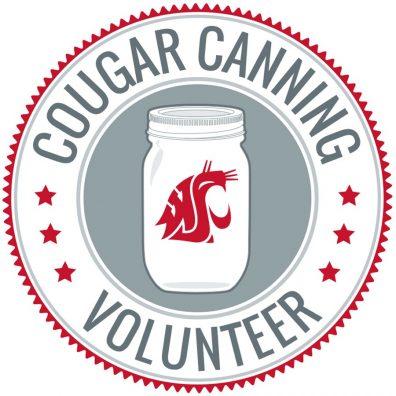 Cougar Canning Volunteer circular logo.