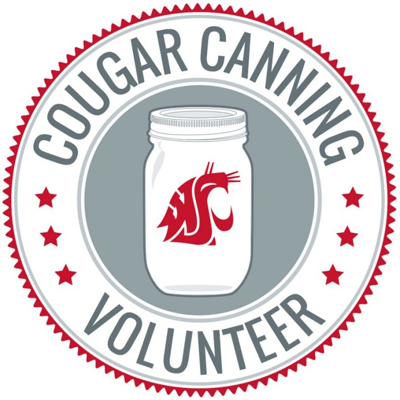 Cougar Canning Volunteer circular logo.