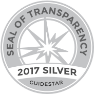 GuideStar's 2017 Silver Seal of Transparency logo