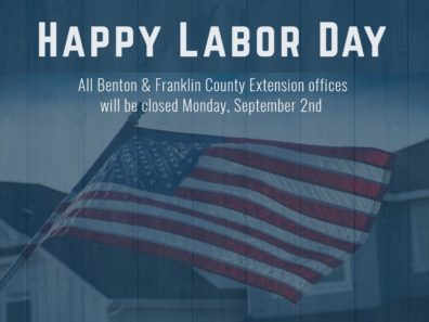 All offices closed September 2nd for Labor Day holiday
