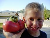 Tomato Boy Photo by Jason Miller