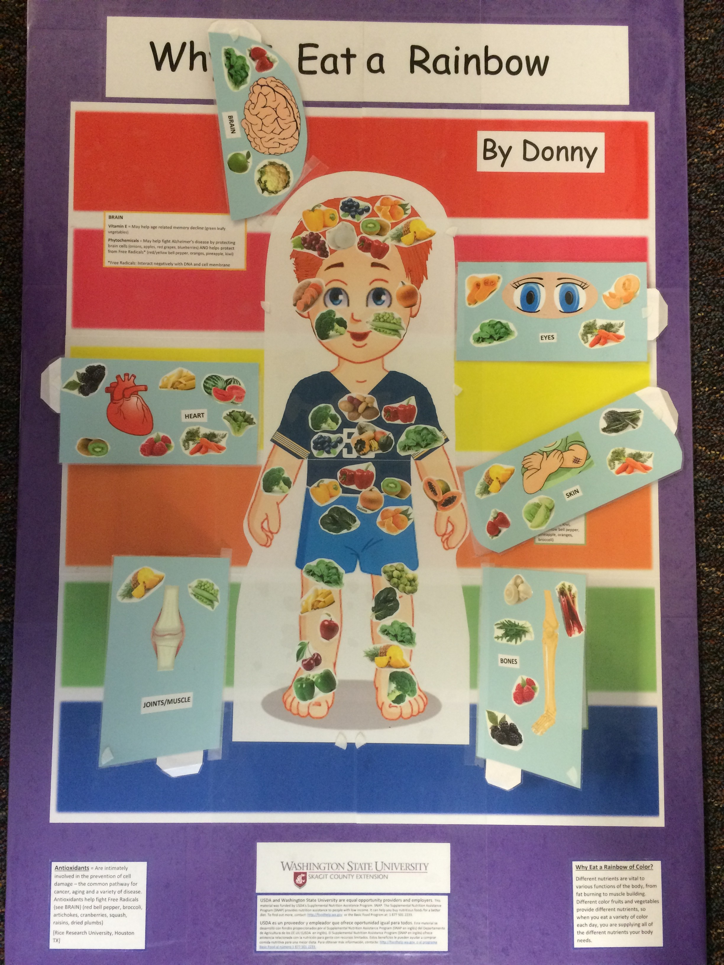 Donny Board Nutrient Contensts